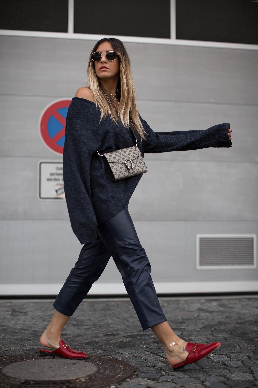 black-palms-hm-faux-leather-pants-lederhose-fashionblog-gucci-slipper-10