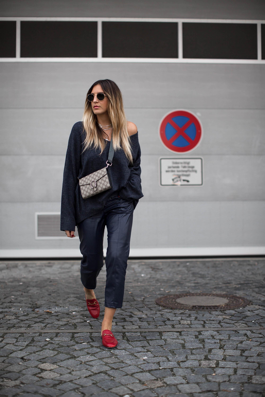 black-palms-hm-faux-leather-pants-lederhose-fashionblog-gucci-slipper-2
