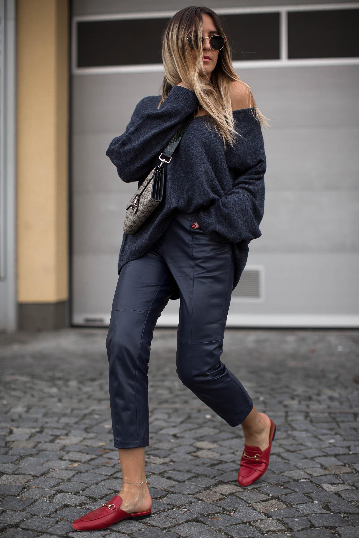 black-palms-hm-faux-leather-pants-lederhose-fashionblog-gucci-slipper-5